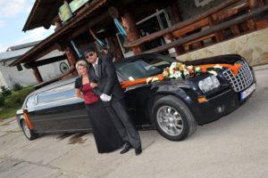 Naša limuzína na svadbe na Orave 2011