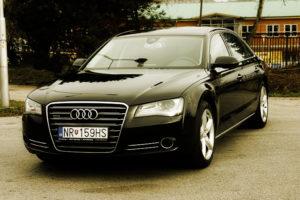 Limuzína Audi A8
